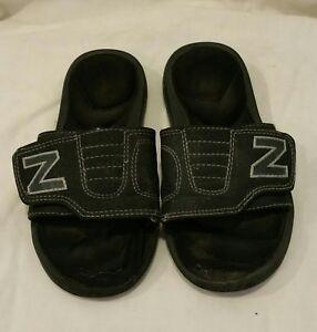 8454717d5c7d5 New Balance Black Sandals -Boys/Kids Size Y 12 Kids Child   eBay