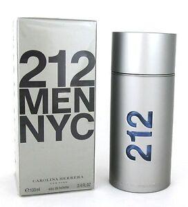 212-MEN-NYC-by-Carolina-Herrera-3-4-oz-Eau-de-Toilette-Spray-New-in-Sealed-Box
