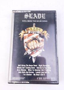 Slade We'll Bring The House Down 1981 Cheapskate Cassette Tape ZK70285 OOP