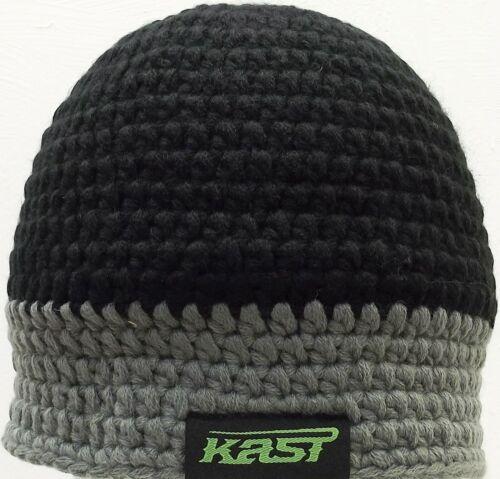 Kast Extreme artes de pesca de ganchillo gorro negro y gris Nuevo con etiquetas