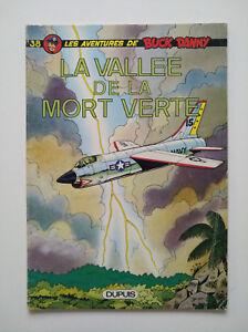 RE-1977-brochee-tres-bel-etat-Buck-Danny-38-la-vallee-de-la-mort-verte