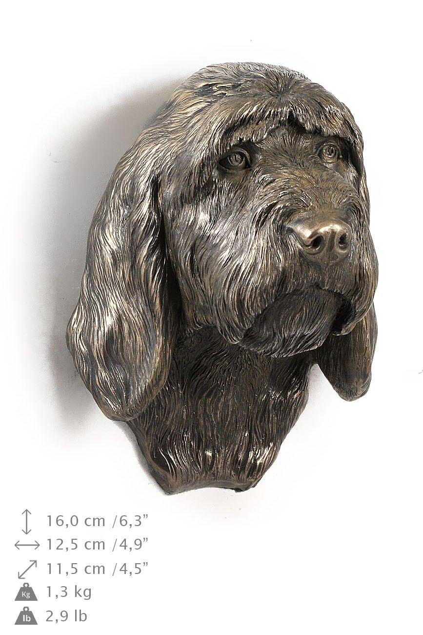 Basset Vendéen - dog figurine to hang on the wall, high quality, Art Dog