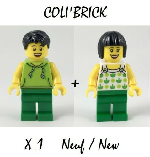 NEW NEUF Lego City twn350 twn351 Minifig figurine La femme et l/'homme