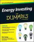 Energy Investing For Dummies by Jeff Siegel, Keith Kohl, Nick Hodge, Christian DeHaemer (Paperback, 2013)