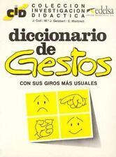 Diccionario de Gestos con sus giros mas usuales (Spanish Edition)-ExLibrary