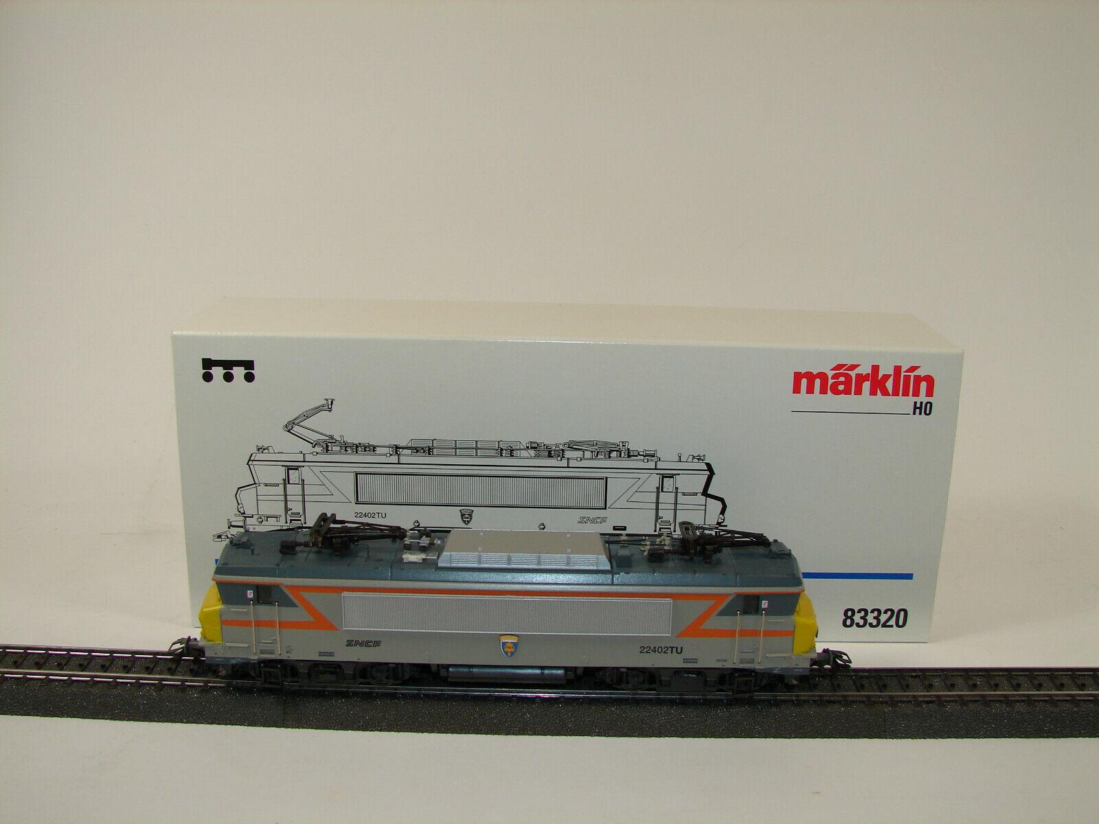 marklin h0 83320 elektrolokomotive BR BB 22200 della SNCF. come NUOVO