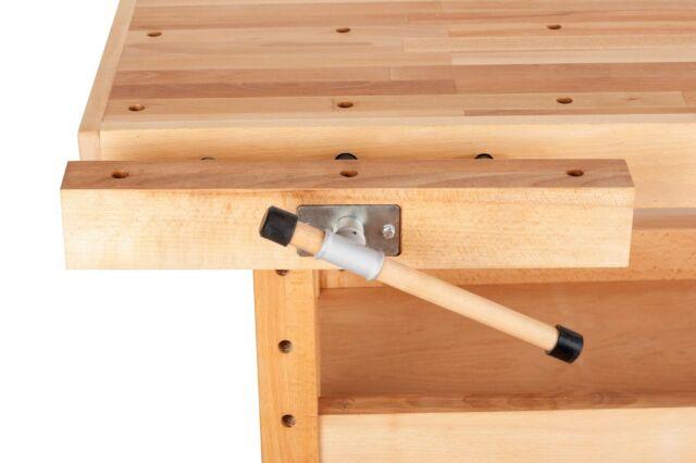Buche Holzwerkbank 7607 Gunstig Kaufen Ebay