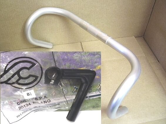 Cinelli 1A 85mm stem with Campione del mondo handlebar