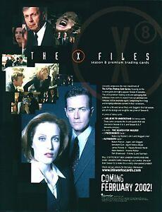 X Files Season 8 Promo Card XF8-1