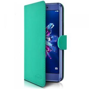 Etui-Portefeuille-Universel-M-Bleu-Turquoise-pour-Samsung-A10