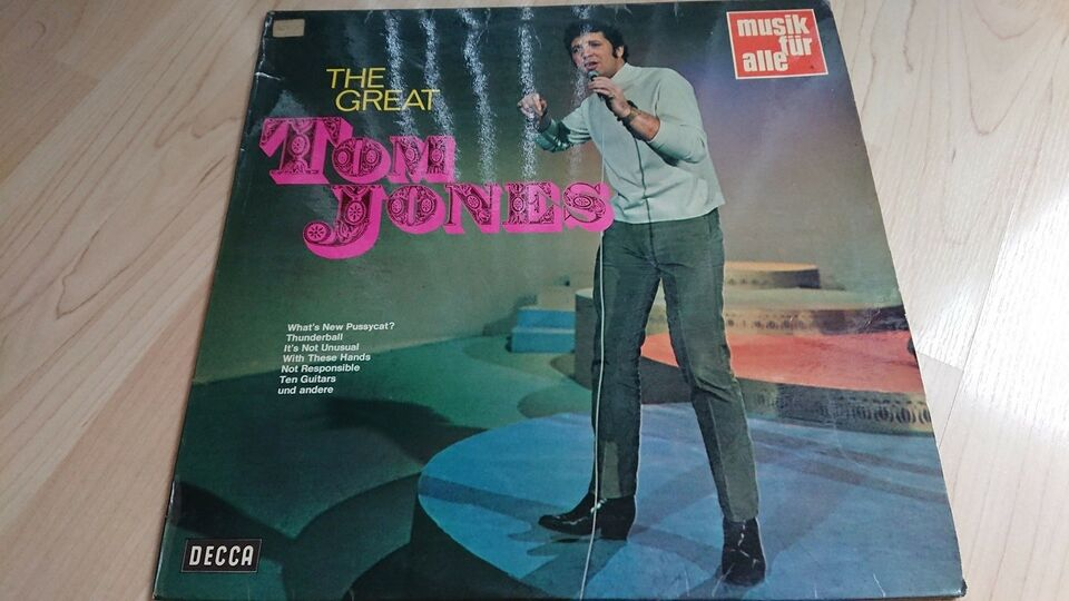 LP, Tom Jones, The Great