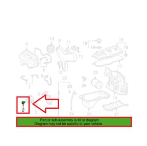 Crankshaft Damper Bolt w// Washer For Toyota 4Runner Tacoma Tundra T100 3.4L V6