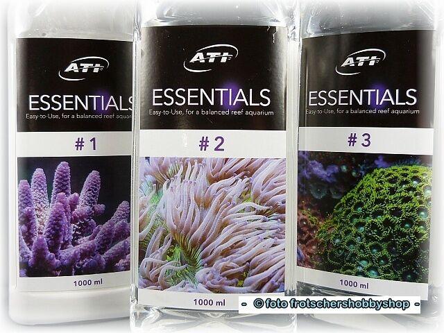 ATI ESSENTIALS 3x1000ml - Makro- und Spurenelemente