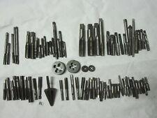 Tap Lot Die Bits Machinist Tool Amt Amp D Co Card Craftsman Gtd Morse 916 38 Etc