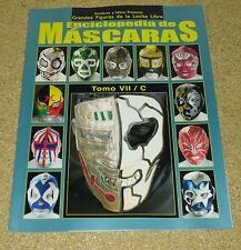 Enciclopedia De Mascaras Tomo VII Lucha Libre Wrestling Mask Encyclopedia