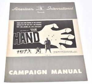 1960-the-Hand-Derek-Bond-Reed-De-Rouen-Bryan-Colema-Crime-Pressbook