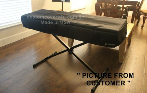 Roland XP-30 XP30 61 key KEYBOARD CUSTOM FIT DUST COVER EMBROIDERY MADE USA