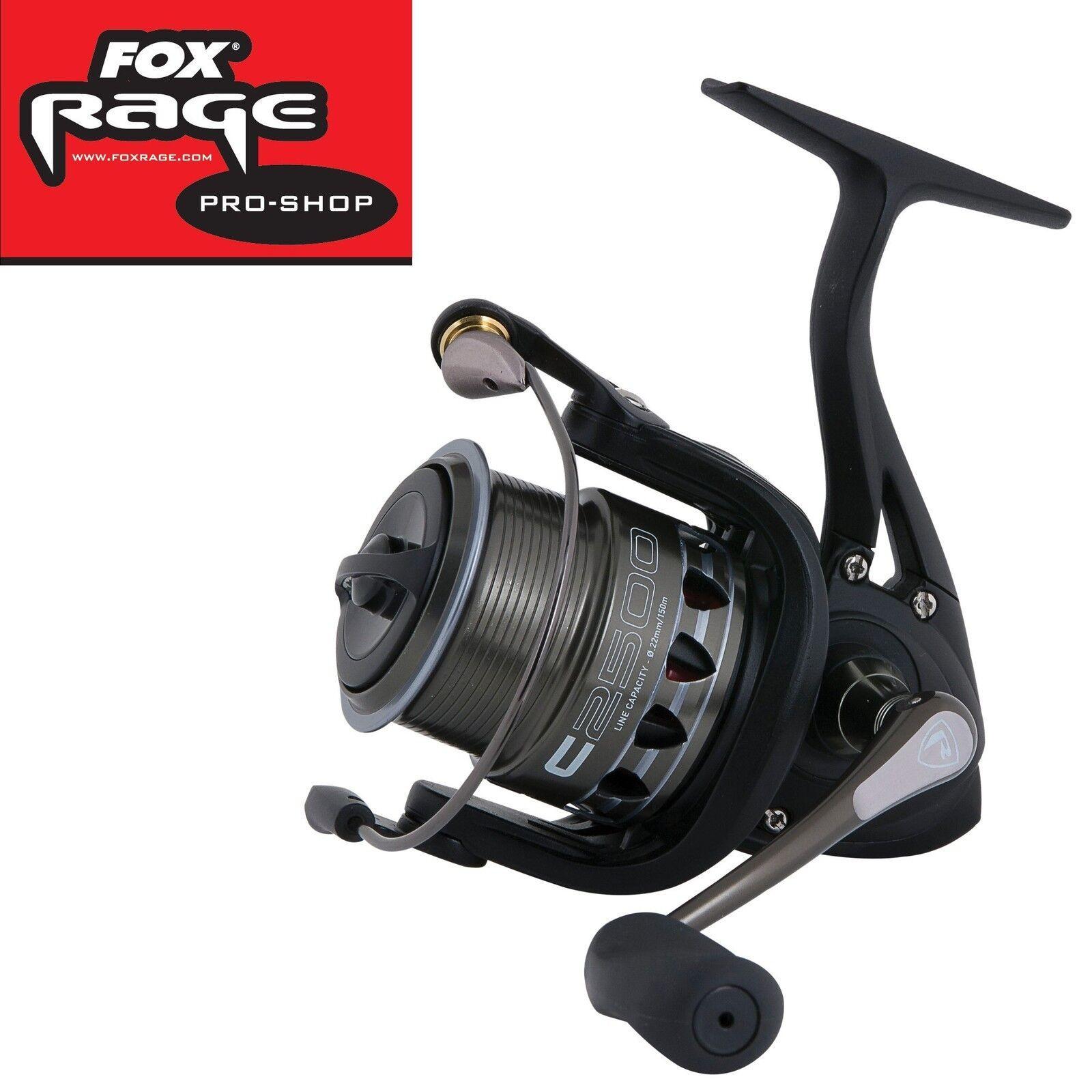 Fox Rage Prism C2500 Rolle, Spinnrolle, Spinnfischen auf Zander, Barsch, Hecht