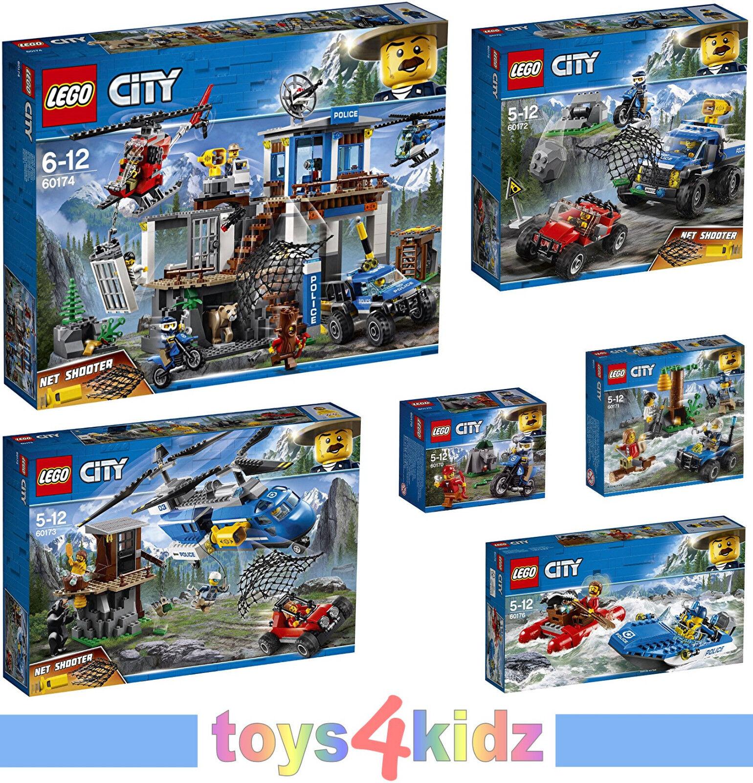 LEGO® CITY Gebirgspolizei 60170 - 60176  zum Auswählen   NEU / OVP