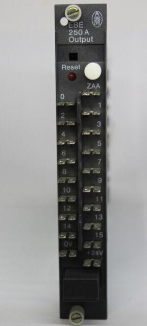 Kloeckner Moeller Output Module EBE 250 A Klöckner Möller EBE250A Sucos