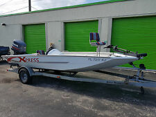 18.5 FT Xpress Aluminum Boat w/ 150HP Yamaha Outboard Motor EXPORT