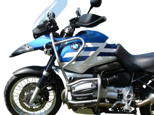 Full Bunker argento 1999-2004 Paramotore HEED BMW R 1150 GS