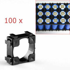 100X-Li-ion-Akku-18650-Bracket-Batteriezellen-Halter-Sicherheit-Spacer-Halterung