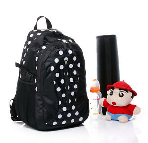Large-Diaper-Nappy-Bag-Backpack-W-Changing-Pad-Travel-Friendly-Strolle-Straps