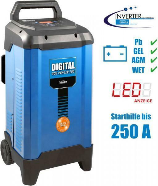 Chargeur de batterie digital GDB 24V / 12V - 250 Güde G85129