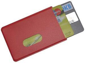 EC-Kartenhuelle-Doppelbox-fuer-2-Scheckkarte-Rot-STABIL-Kreditkartenhuelle-no-RFID