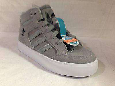 Paquete De Invierno Adidas Hardcourt hi Infantil Gris/Negro/Blanco M22906 diversos tamaños Reino Unido