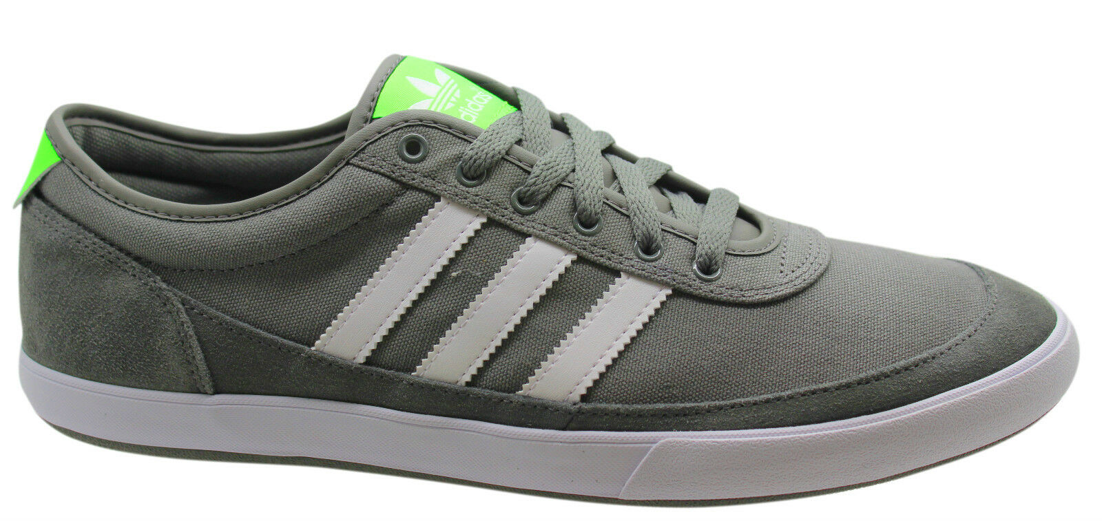 Bdidas Originals Court Spin Mens Trainers Canvas Grey Low Lace Up M17811 D72