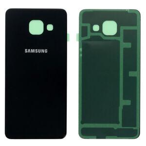 Original-Samsung-GALAXY-A3-2016-A310F-Akkudeckel-Deckel-Backcover-Schwarz-Black