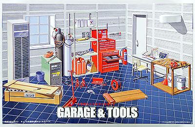 Fujimi GT15 111186 Garage & Tool Series Garage & Tool Set 1/24 scale kit NZA