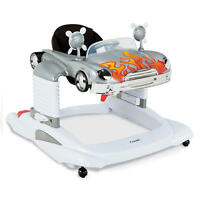 Combi All In One Activity Walker In Silver Flame Brand