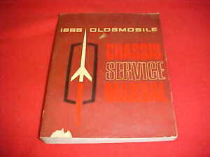 1965 OLDSMOBILE 88 98 442 CUTLASS SERVICE SHOP MANUAL ...