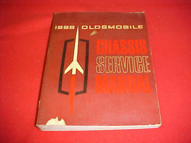 1965 Oldsmobile 88 98 442 Cutlass Service Shop Manual