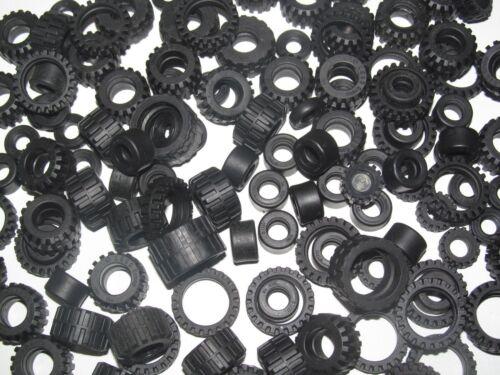 Lego ® Lot x10 Pneus pour Roue Voiture Camion Car Truck Tires Choose Model NEW