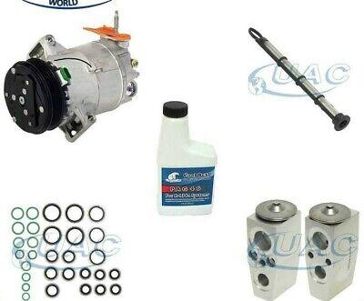 AC Compressor w// A//C Condenser Drier For Chevy Malibu Saturn Aura Pontiac G6