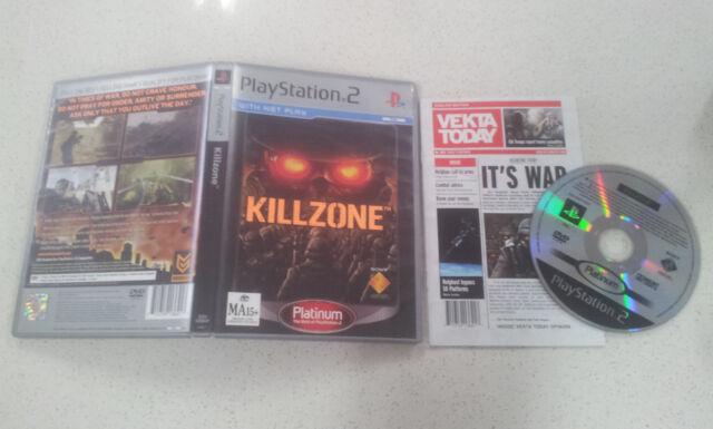 Killzone PS2 Game PAL