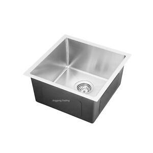 304 Handmade Stainless Steel Kitchen Sink /Laundry Tub  (44cmx44cm)
