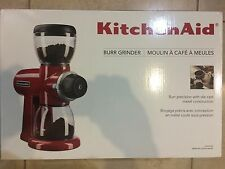 KitchenAid Coffee Burr Grinder Empire Red KCG0702ER NEW IN BOX