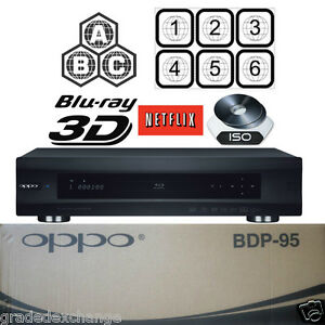 OPPO-DIGITAL-BDP-95-ALL-REGION-MULTI-CODE-FREE-3D-BLU-RAY-DVD-PLAYER-USED-IN-BOX