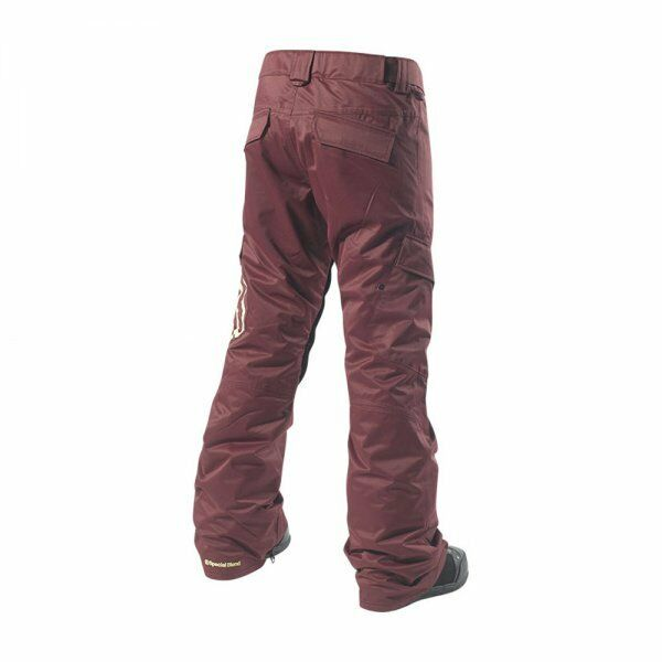 SPECIAL Snow BLEND Donna MAJOR Snow SPECIAL Pants - Merlot - Medium - NWT 27ce29