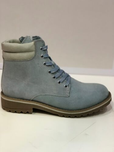 Marco Tozzi Ladies Lace and Zip Up Ankle Winter Boots In 12 Colours