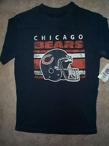 ff8fb25a1 Image is loading NFL-VINTAGE-COLLECTION-Chicago-Bears-Jersey-Shirt-YOUTH-