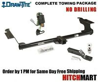 Fits 1999-2004 Honda Odyssey, Class 3 Trailer Hitch Package W 2 Ball 75270