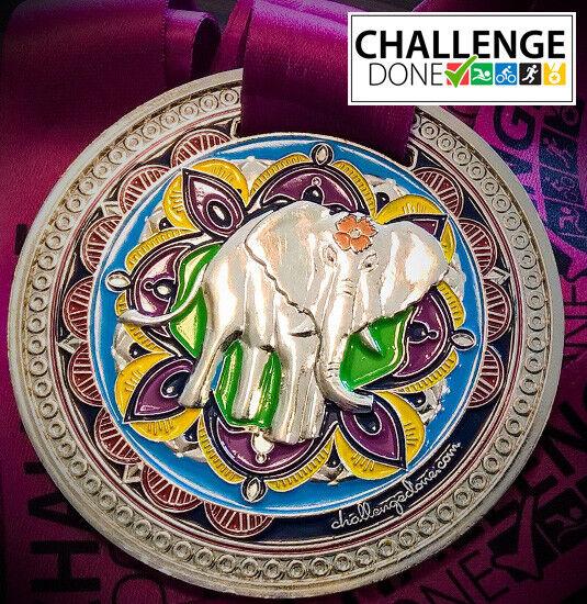 Beautiful 'Jumbo' Elephant medal - fundraising -Fun Run - SponsoROT Walk / Swim