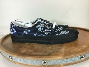 Vans-Unisex-Era-Floral-Shoes-Blue-Black-VN0A4U39WYW-Size-M8-5-W10-5