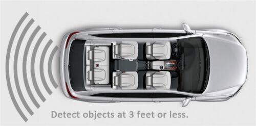 Electromagnetic Auto Car Parking Reversing Reverse Backup Radar Sensor Safety